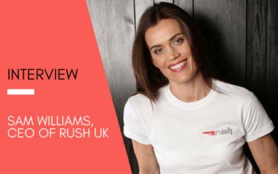 Get Inspired: Sanzen Digital talks to Sam Williams, CEO of Rush UK
