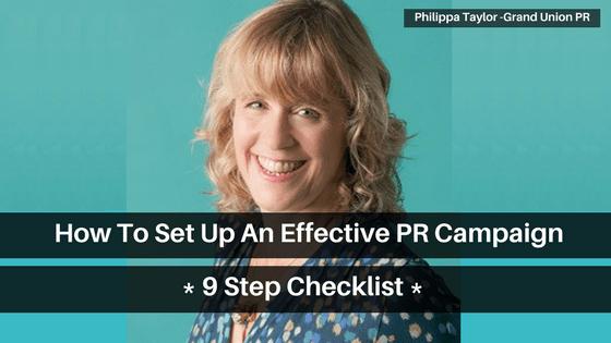 Effective PR Campaign