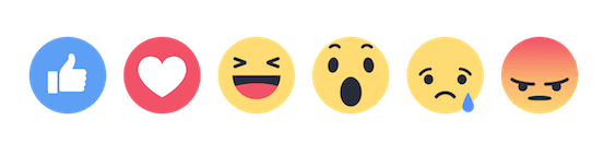 facebook reactions - sanzen digital