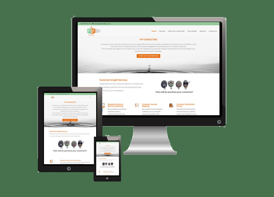 Fip Consulting - Web Design