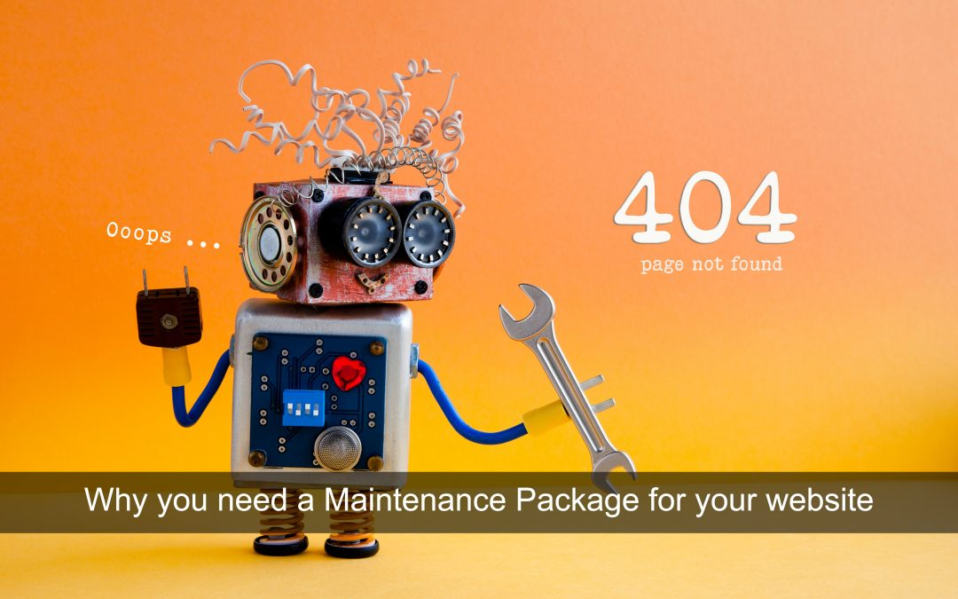 Why you need a WordPress Website Maintenance Package